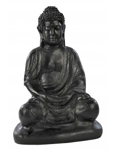 Bouddha hindou H.36cm Anthracite ou pierre - Grandon