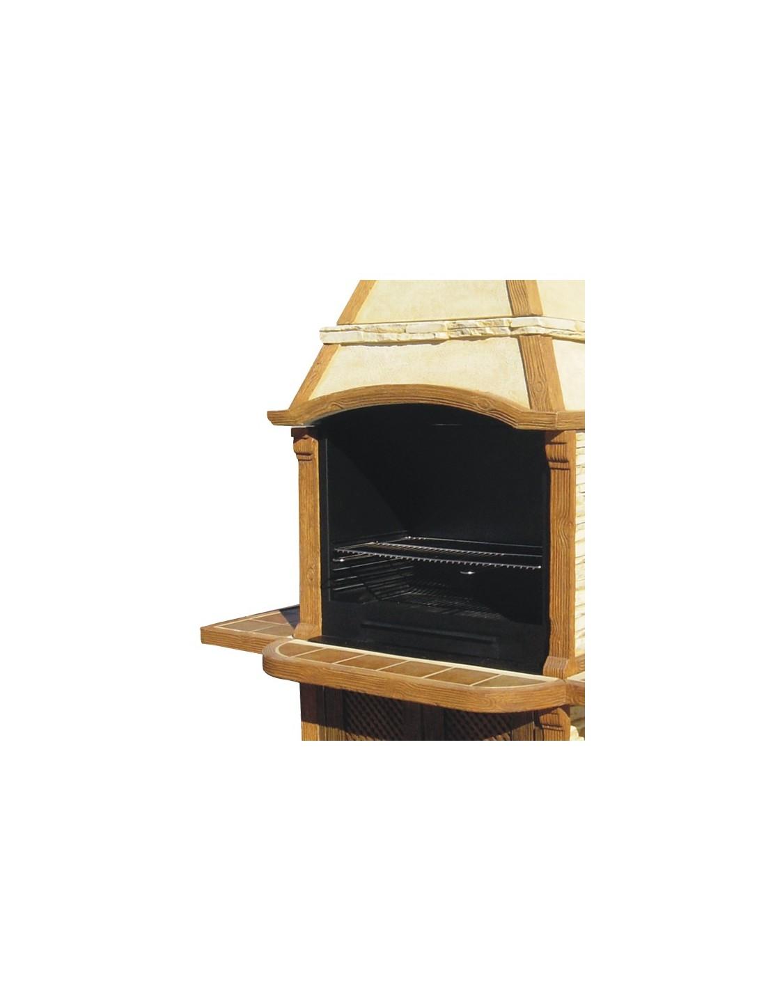 barbecue baricuper en pierre reconstitu e grandon. Black Bedroom Furniture Sets. Home Design Ideas
