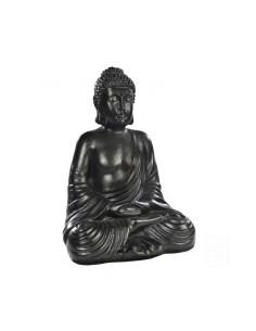 Bouddha hindou H.48 cm Anthracite ou pierre - Grandon