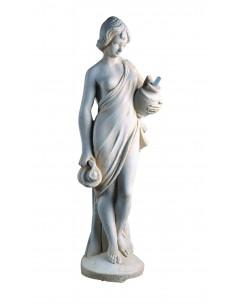 Statue Vénus aux Jarres H.85 cm en pierre reconstituée - Grandon