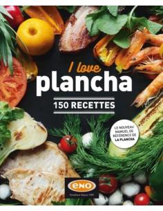 Livre de cuisine I love plancha Eno
