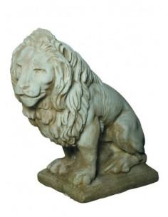 Lion à gauche H.90 cm coloris au choix Grandon