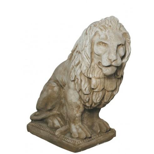 Lion à droite H.90 cm coloris au choix Grandon
