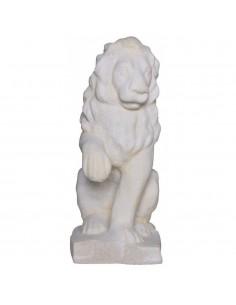 Lion à gauche H.40 cm en pierre reconstituée - Grandon