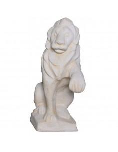 Lion à droite H.40 cm en pierre reconstituée - Grandon