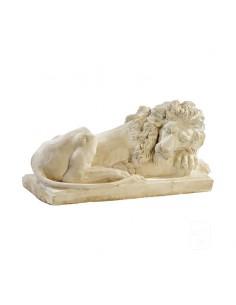 Lion couché L.40 cm coloris au choix Grandon