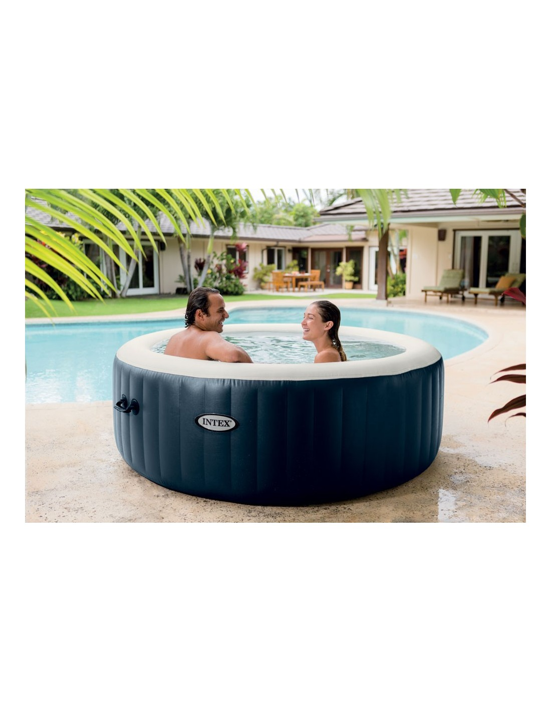 Spa gonflable rond 6 places intex - Spa gonflable intex 6 places ...