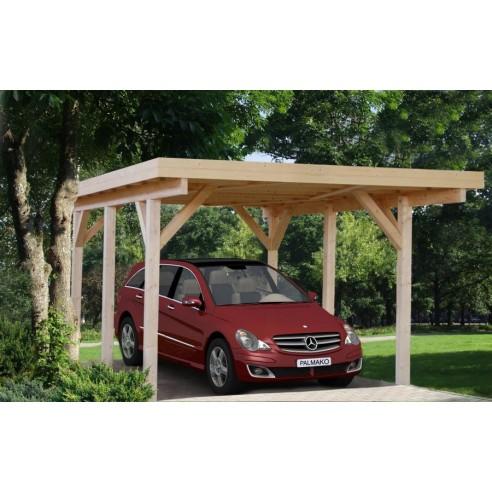 Carport Karl 18.4 m² - Poteaux 12x12 bois lamellé-collé