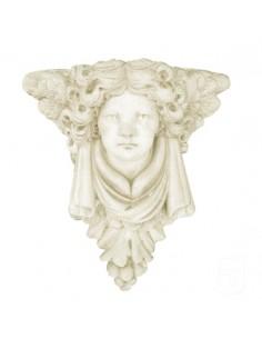 Cordbeau à l ange H.30 cm en pierre reconstituée - Grandon