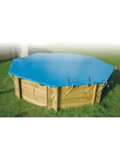 Bâche de sécurité 550 g pour piscine UBBINK - Outsideliving