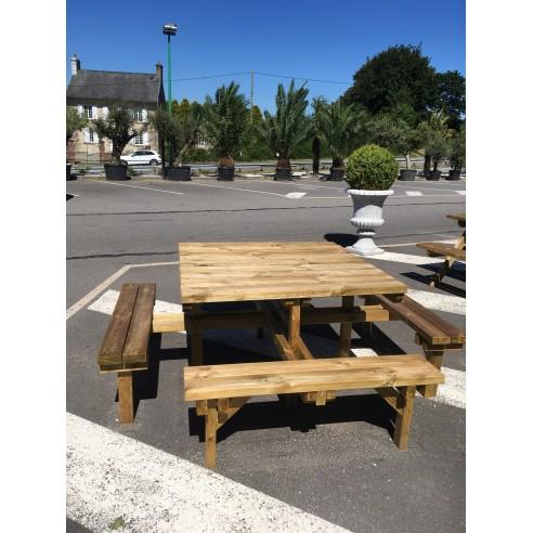 Table pique-niques OCTAVE 200x200x75...