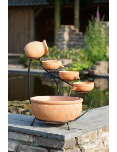 Fontaine d'extérieur en terre cuite Terracotta  H.60 cm - Outsideliving