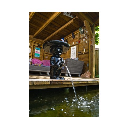 """Fontaine """"Männeken Pis Mexicano Noir H.47 ou 67 cm - Ubbink"""