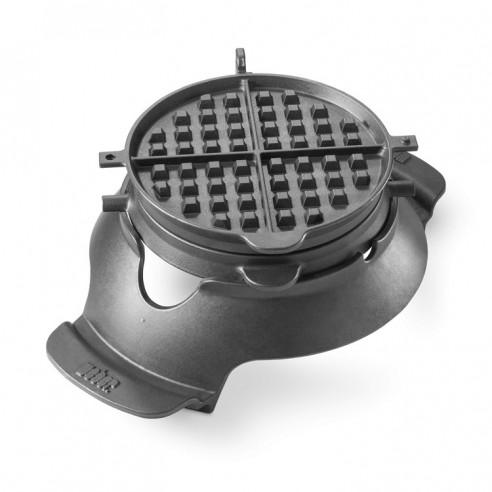 Croque Monsieur et gaufrier en fonte gourmet barbecue system Weber