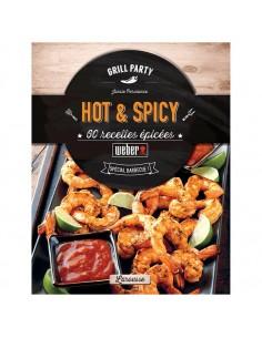 """Livre de recettes """"Hot & Spicy"""" - Weber"""
