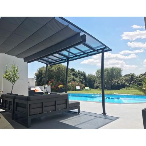 pergolas adoss e oslo 3 5 x 4 m couleurs du monde. Black Bedroom Furniture Sets. Home Design Ideas