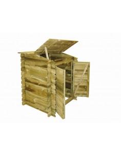 Coffre de filtration Classic en bois autoclave - Outsideliving
