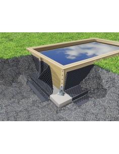Nappe d'étanchéité en HDPE 1,50 x 20 m - Outsideliving