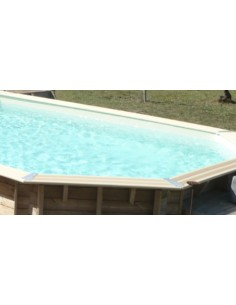 Liner Beige pour piscine différentes tailles - Ubbink