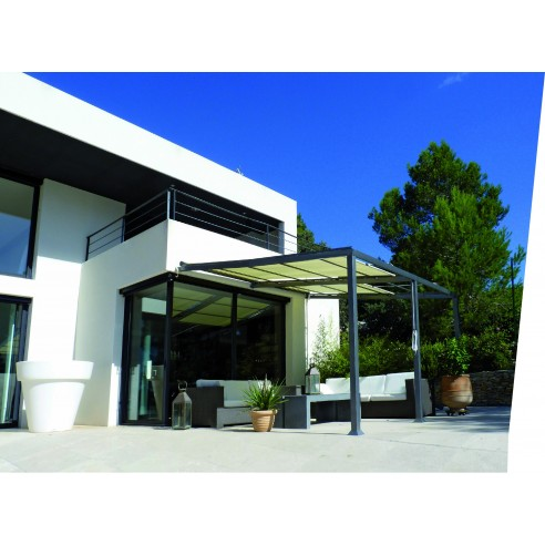 pergolas adoss e philadelphia aluminium 3 5 x 4 m couleurs du monde. Black Bedroom Furniture Sets. Home Design Ideas