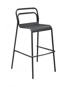 Chaise haute EOS Empilable en aluminium - Proloisirs