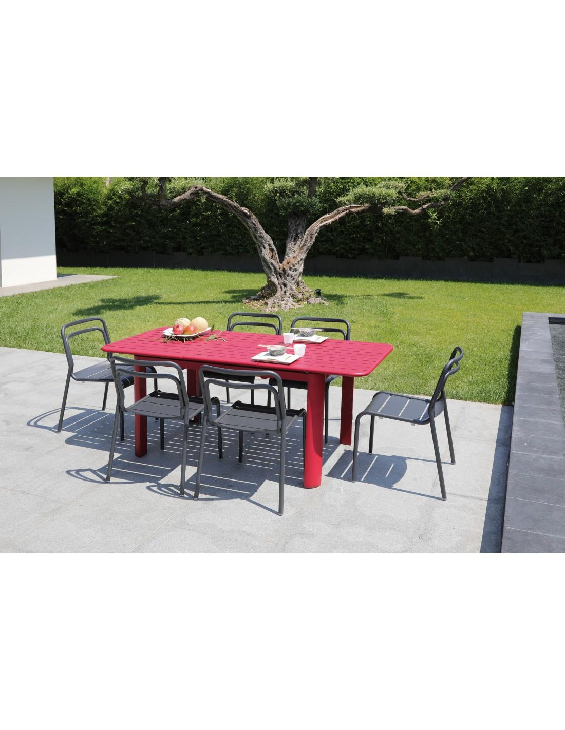 Jardin Extensible Proloisirs Aluminium Table Cm Eos En 130180 De XliuTOkPwZ