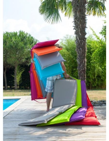 Coussin de bain de soleil Garden - toile polyester au choix - Proloisirs