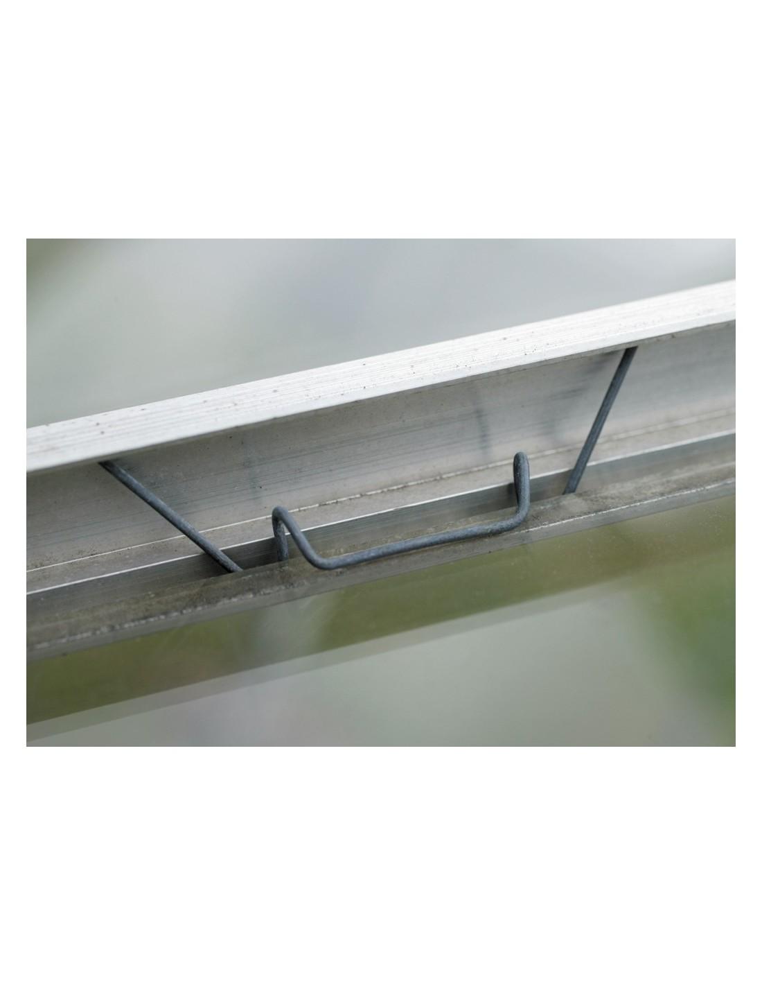 clips de verre m acd pour tous types de serres en verre. Black Bedroom Furniture Sets. Home Design Ideas