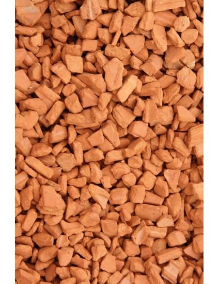 Brique pilée 3/15 mm filet de 25 kgs
