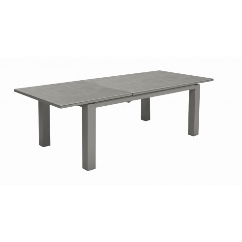 Table de jardin Flo HPL trespa 180/240 cm coloris au choix - Océo