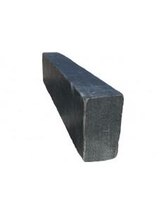 Bordure ardoise nero 50x10x6 cm