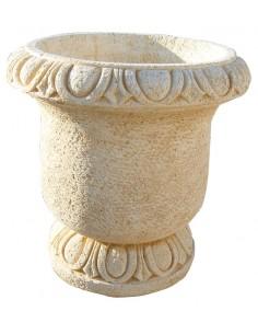 Vase rond en pierre reconstituée au choix - Grandon