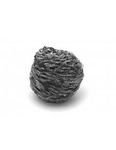 Boule Inox pour nettoyer sa plancha - Forge adour