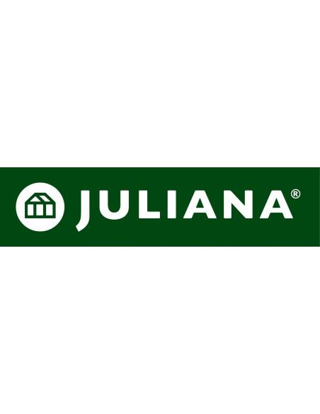 Etagère universelle laquée noire avec rebords JULIANA - Taille au choix