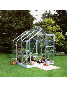 Serre Popular HALLS 3,8 m² - Verre horticole de 3 mm