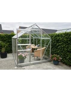 Serre Popular HALLS 5 m² - Verre horticole de 3 mm