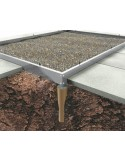 Serre Popular HALLS 6.2 m² - Verre horticole de 3 mm