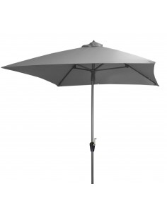 Parasol droit TILT 2.5 x 2.5 m inclinable en aluminium - Proloisirs