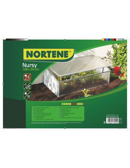 Nursy châssis Nortene en aluminium et polycarbonate