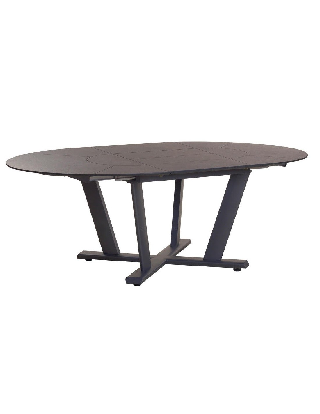 table ronde extensible jardin