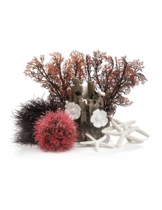 Set de Décor Artificiel Forêt Rouge 15L Biorb - Oase