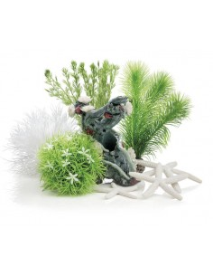 Set de Décor Artificiel Jardin Fleuri 15L Biorb - Oase