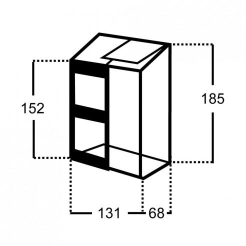 Serre Altan 2 HALLS 0.9 m² en polycarbonate 4 mm