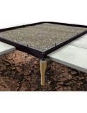 Serre Altan 2 HALLS 0.9 m² laquée verte en polycarbonate 4 mm