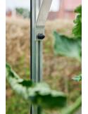 Serre Royal HALLS 7.2 m² laquée verte en verre 3 mm