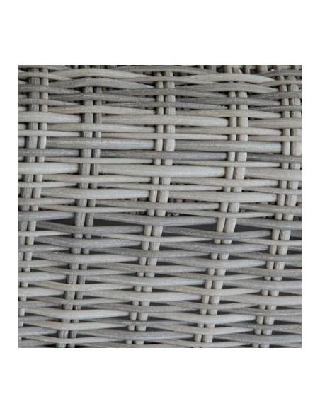 Table basse Mooréa Aluminium et résine coloris au choix- HESPERIDE