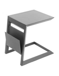 Table d'appoint Allure - L.55 x P.45cm - Aluminium - Hespéride