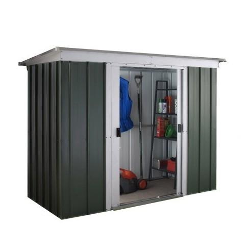 Abri de jardin métal 2.8 m² au choix - Vert sapin