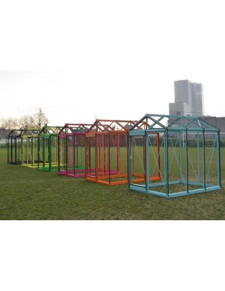 Serre ACD R307H 15.9 m² en verre trempé sécurit