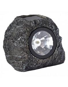 Spot Rocher imitation granite solaire